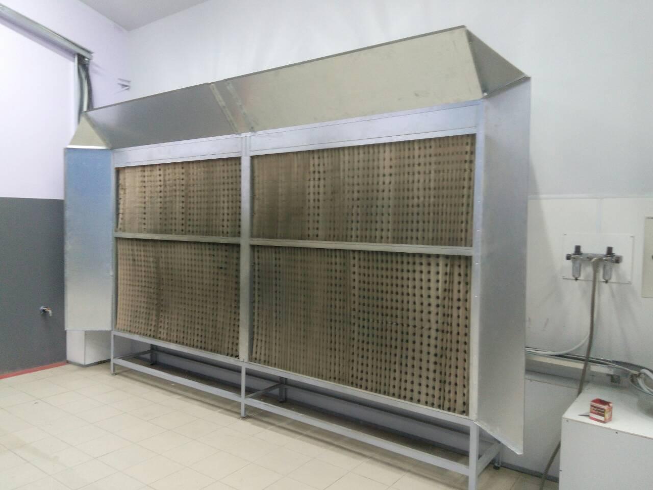 Фарбувально-сушильний комплекс для великогабаритної техніки – Аеротехніка