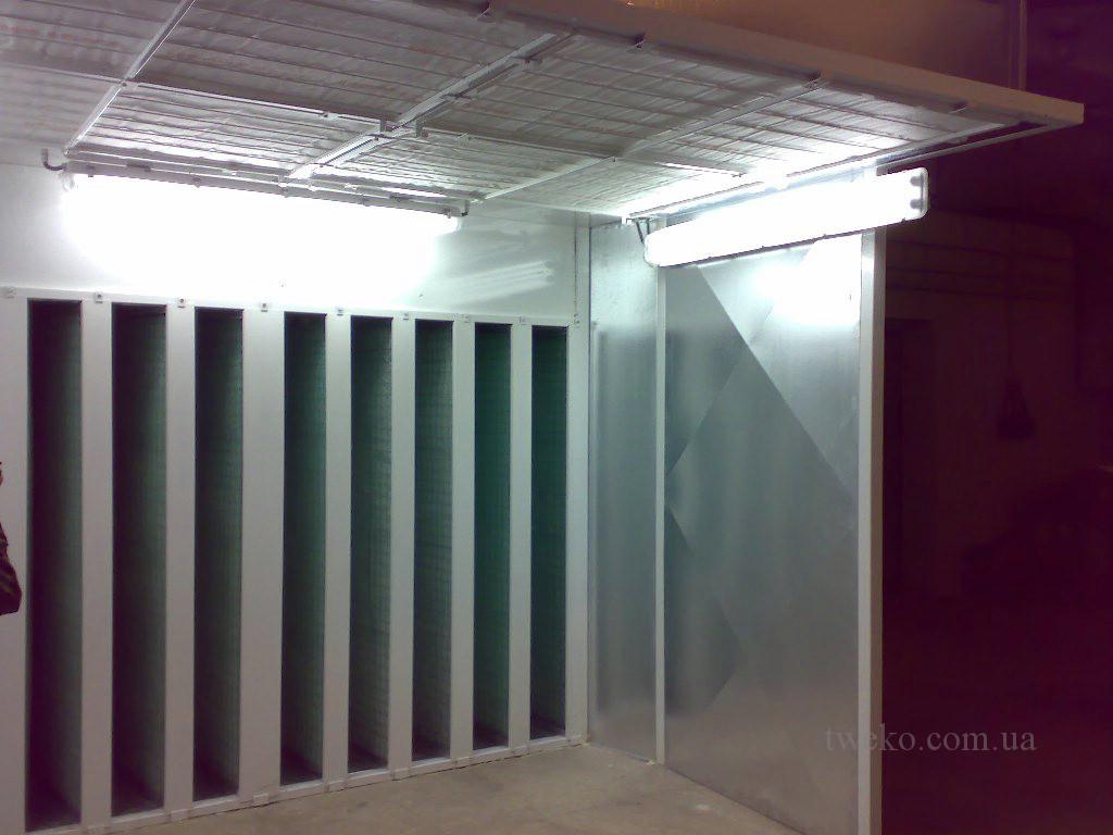 Завод 410 ЦА — Комплекс окраски