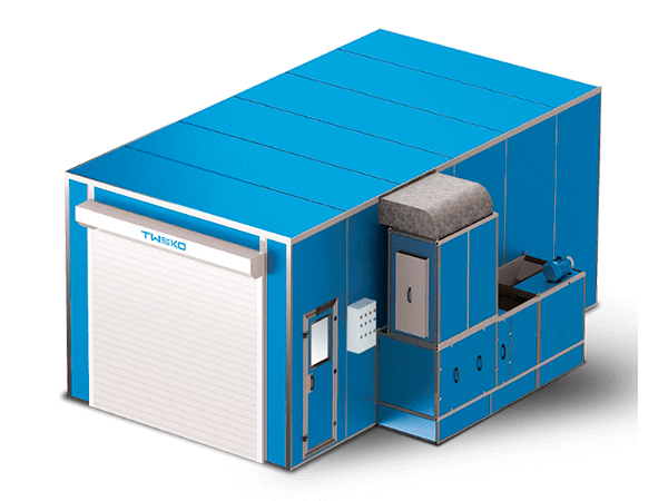 Spray booths & Painting chamber: AKFS Electro series