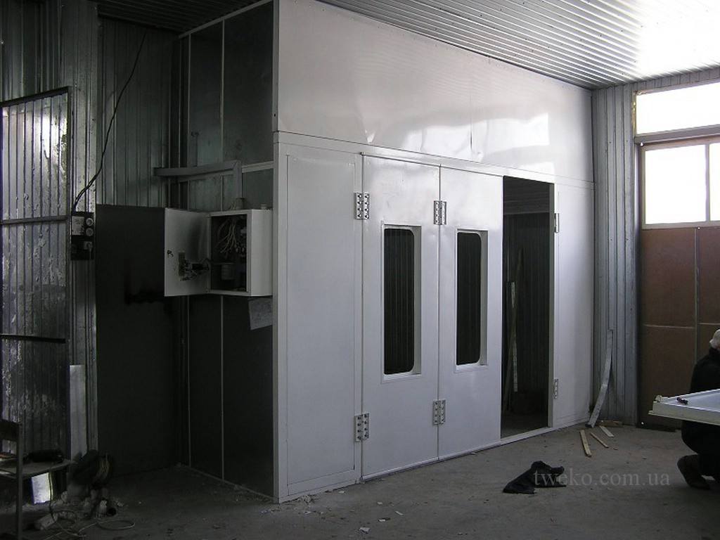 AUTO BUSINESS SERVICE – PAINTING AND DRYING CHAMBER FOR CARS