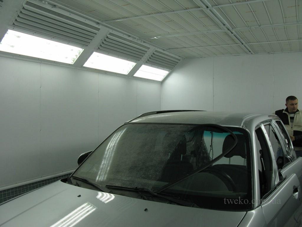 Автосервис-115 — покрасочная камера для автомобилей