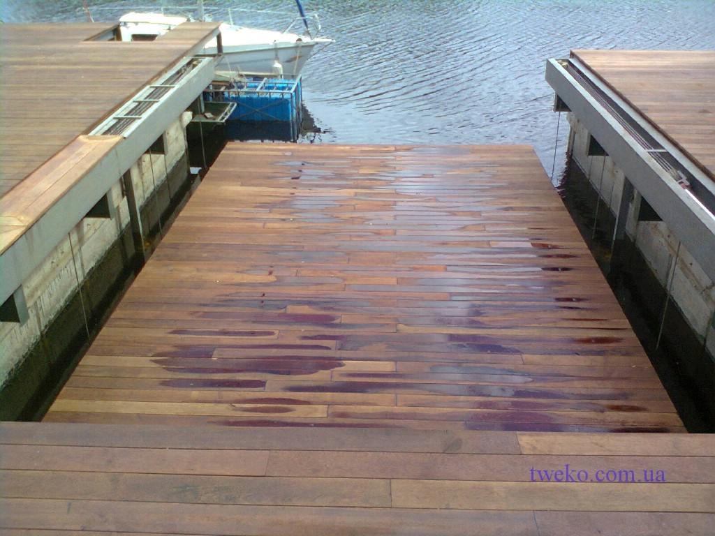 Большая Дамба — подъемник для яхт
