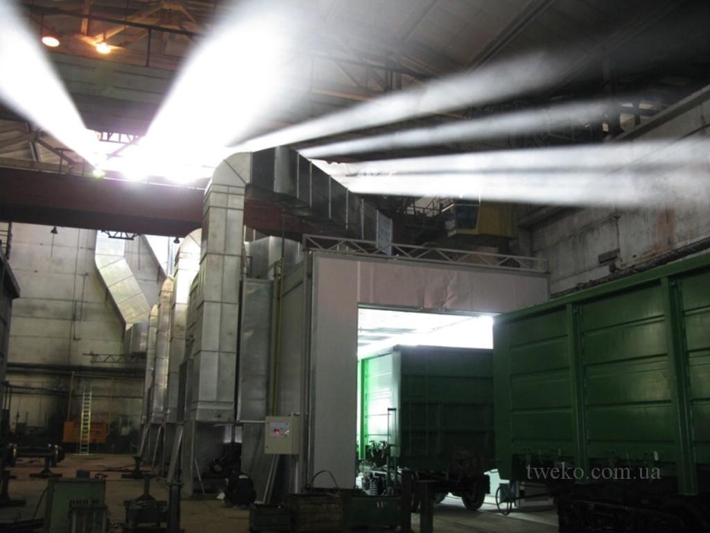 Дизельный завод — окраска жд вагонов