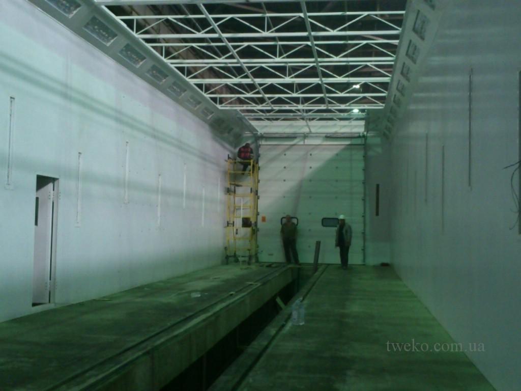 Донецксталь — камера для покраски вагонов