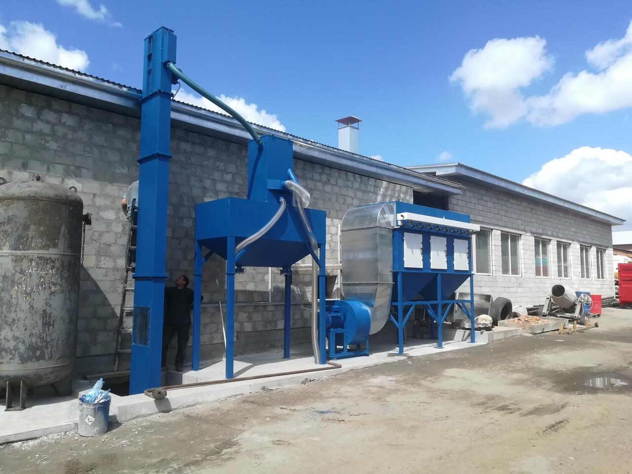 ABRASIVE BLASTING CHAMBER FOR BADOR FROM TWEKO FACTORY