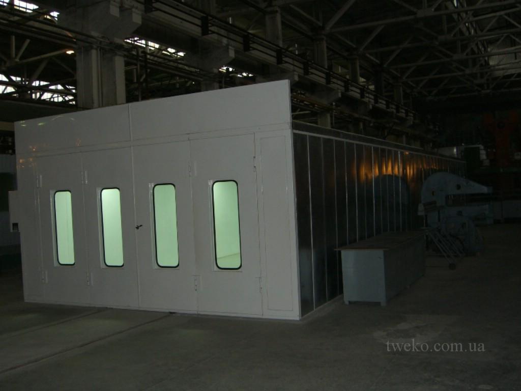 Серийный завод Антонов (КиАЗ Авиант) — камера сушки