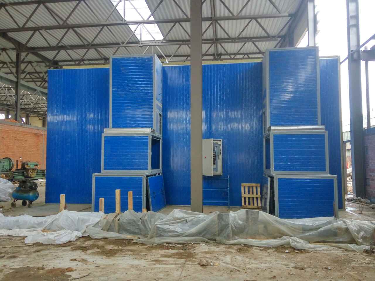 PAINTING CHAMBER FOR AGRICULTURAL MACHINERY — OLIS COMPANY