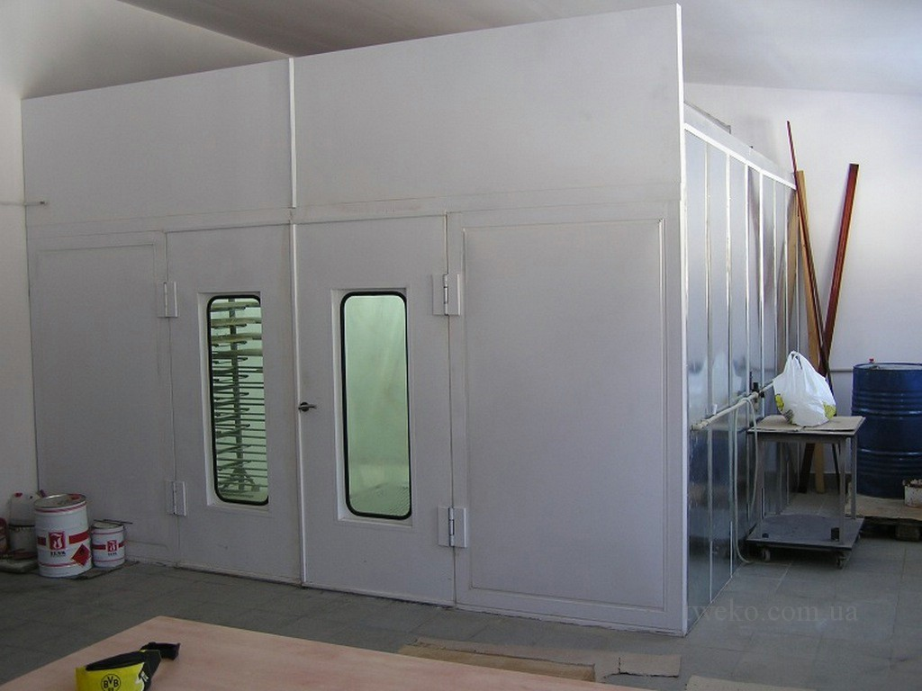 RAMUS – PAINT CHAMBER FOR MDF