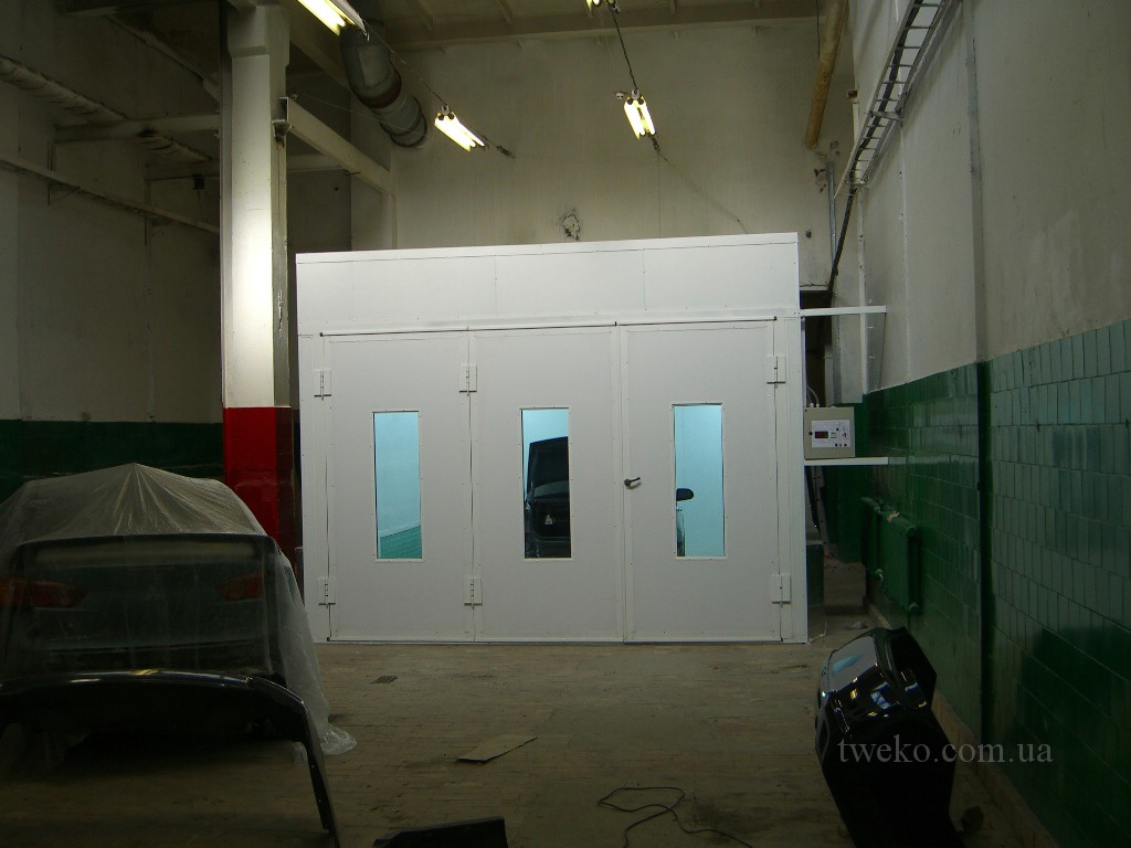 STOLITSA – PAINT BOOTH FOR CARS