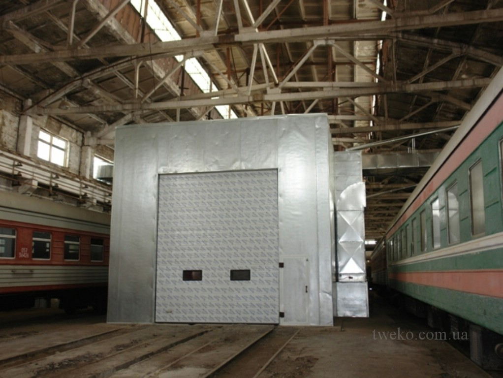 DEPOT TBILISI – PAINTING OF PASSENGER TRAINS