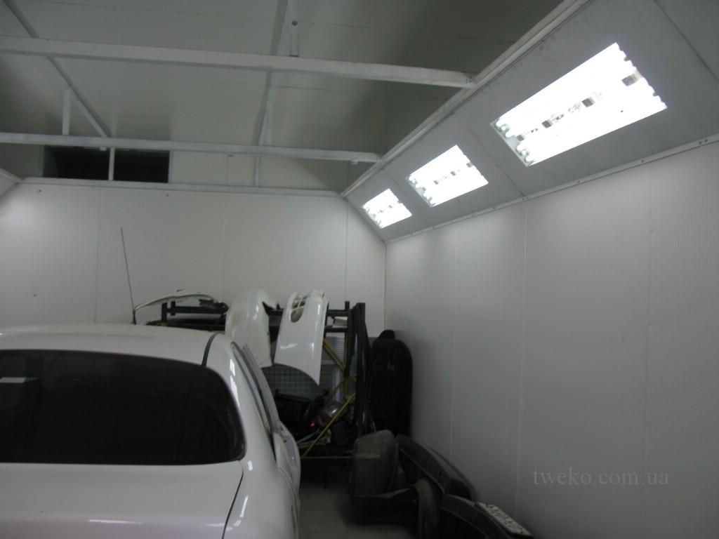 ЦОСД МО и ГШ ЗСУ – бюджетная окрасочная камера для авто