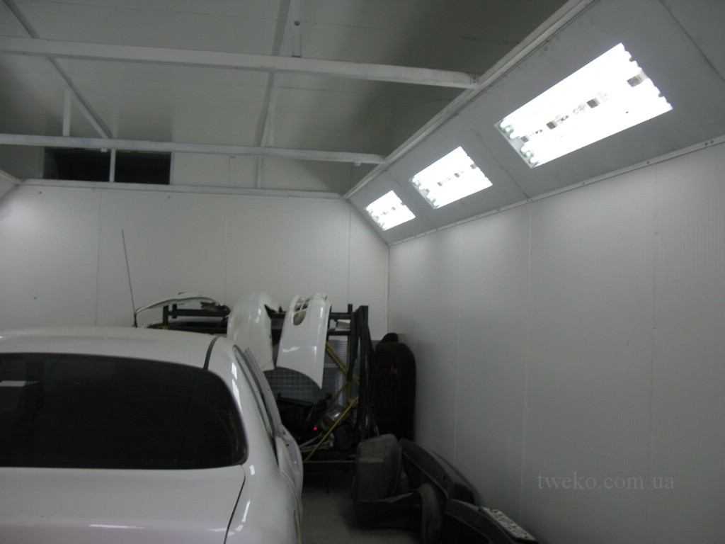 MINISTRY OF DEFENCE – ECONOMICAL PAINTING CHAMBER FOR CARS
