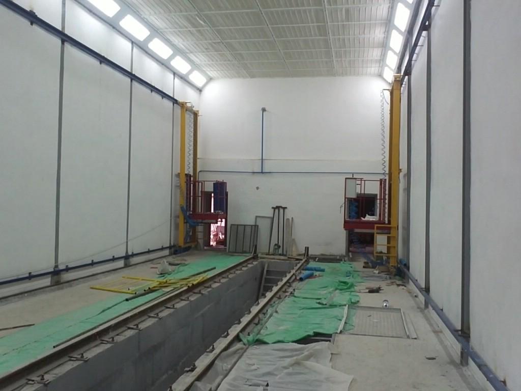 Укрспецвагон — покрасочный комплекс для железнодорожных вагонов