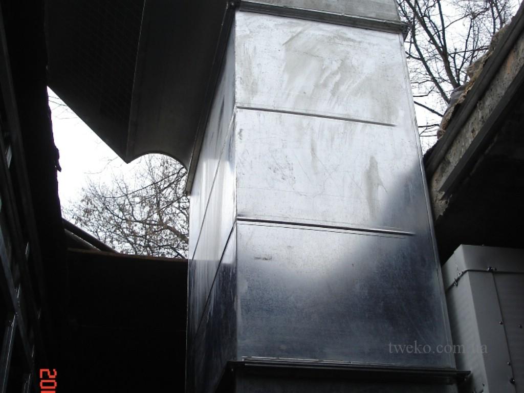 ЖД Шоссе — покрасочная камера с боковой подачей воздуха