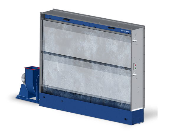 Fume hood with hydro-screen: series AS HYDRO (ASH2-5)