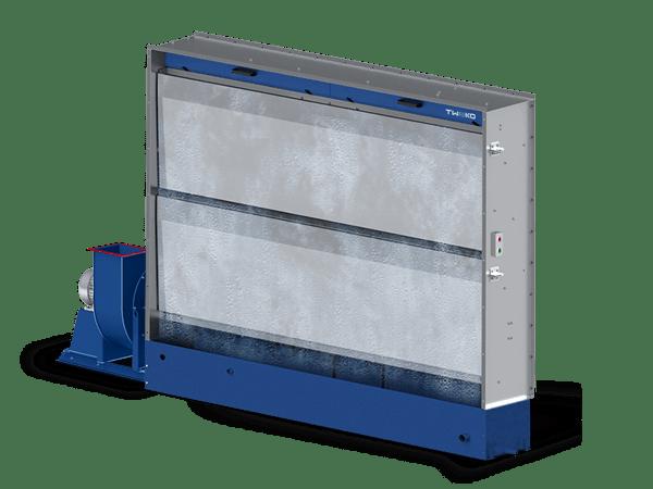 Вытяжной шкаф с гидроэкраном: серия AS Hydro (ASH2-5)