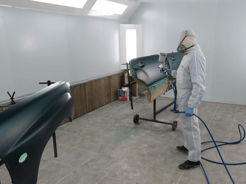 Как правильно покрасить металлическую поверхность