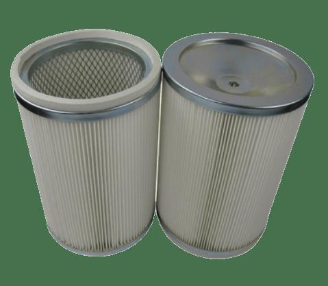 Цилиндрический фильтр выброса