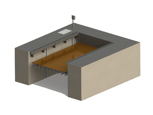 Подъёмник для яхт и платформа для суден серия YpP