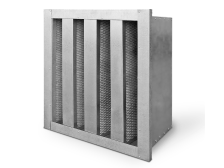 Charcoal ejection filter