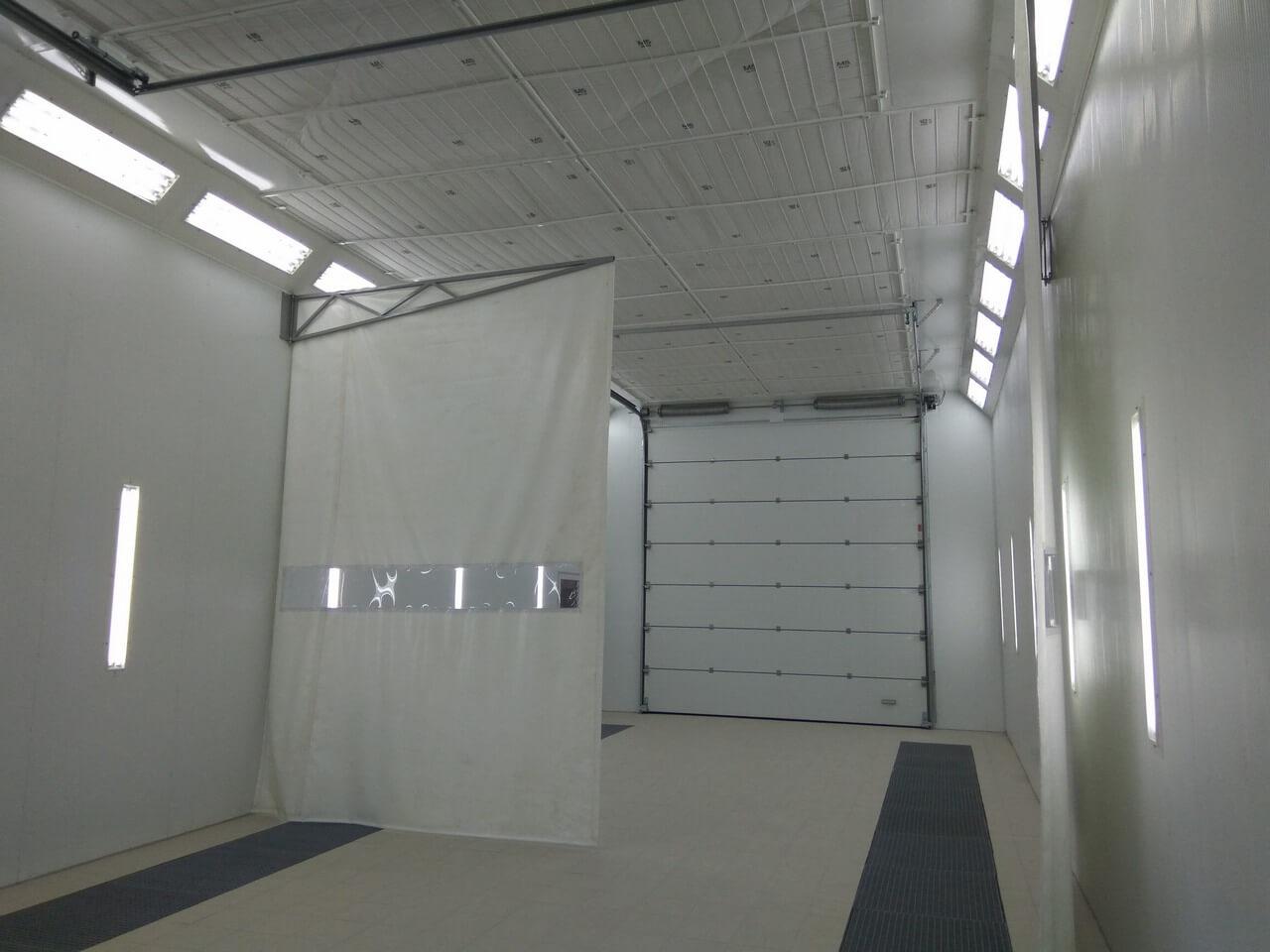 Окрасочно-сушильный комплекс для крупногабаритной техники — Аэротехника