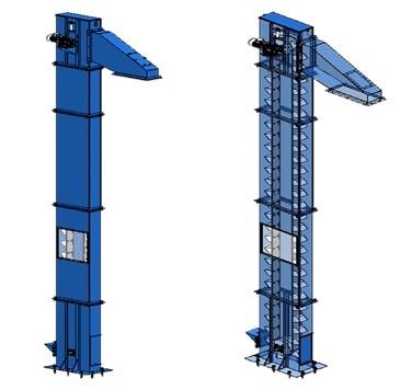 Ковшовый транспортер КТ — 5М