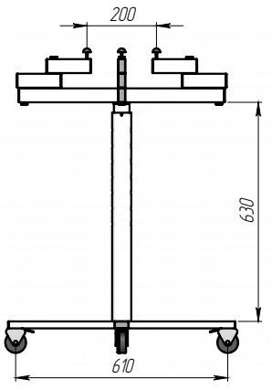 Стол малярный (плечевой)