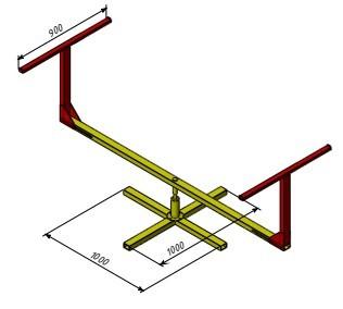 Поворотний стіл (низький)