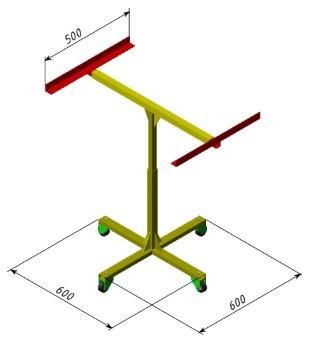 Поворотний стіл (високий)