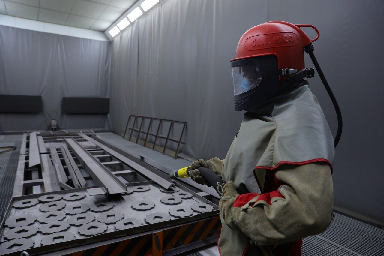 Paint area of Zaporizhy Casting and Mechanical Plant